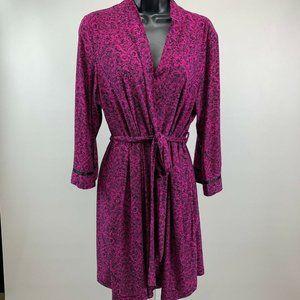 Linea Donatella Robe SZ L/XL 3/4 Sleeves Short